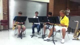 NHS Sax Quartet: Jerocho