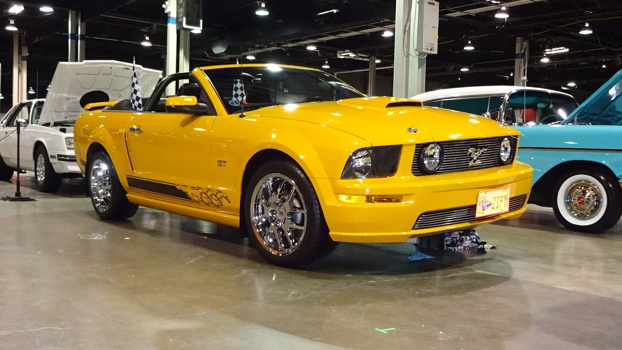 2007 ford mustang gt convertible in grabber orange engine sound on my car story with lou costabile