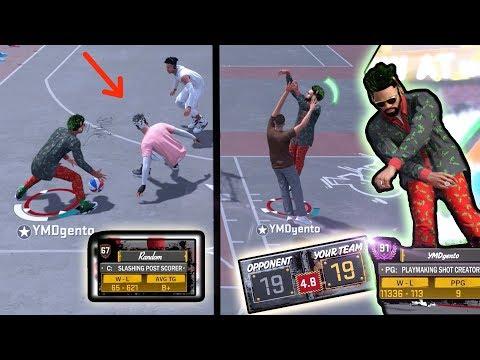 THIS MIGHT BE A BAD IDEA! BROWN TEE RANDOM NEGATIVE RECORD REPAIR! NBA 2k18 Playground!