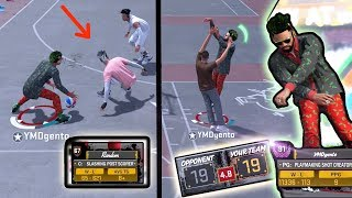 THIS MIGHT BE A BAD IDEA! BROWN TEE RANDOM NEGATIVE RECORD REPAIR! NBA 2k18 Playground!