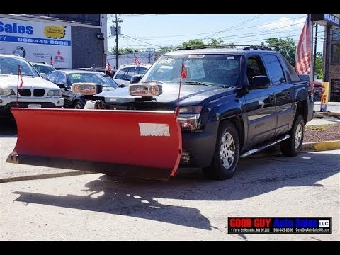 2003 Chevrolet Avalanche Plow Truck - YouTube