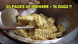 The Next Level of Cooking Indomie Goreng | Warkop Agam Senyum Ketawa Medan | Indonesian Street Food