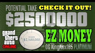 *NEW* GTA Online: Pacific Standard Heist Glitch (UNLIMITED MONEY GLITCH) PS4/XBOX ONE/PC!