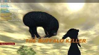Roblox - Wild Savannah - How to Kill a Buffalo!