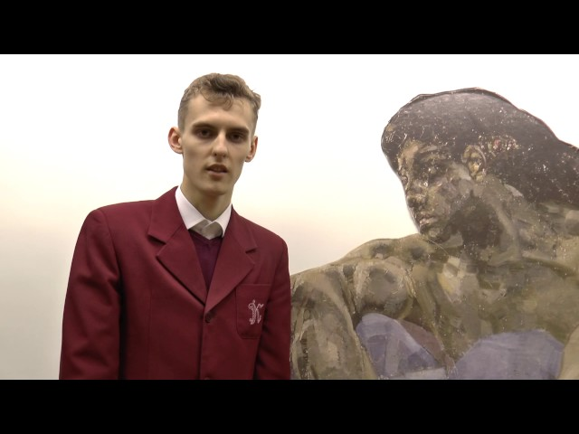 Изображение предпросмотра прочтения – АндрейАлещенко читает отрывок изпроизведения «Умирающий гладиатор» М.Ю.Лермонтова