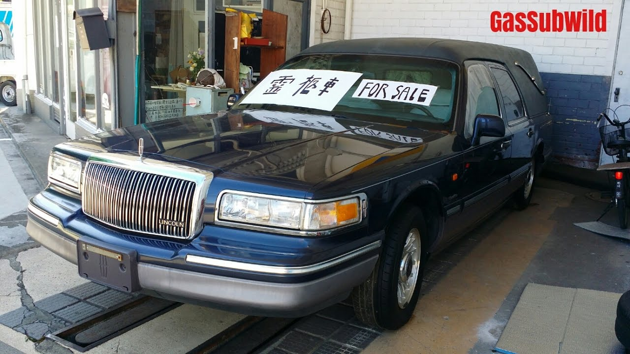 1 24 17 Lincoln Town Car Hearse 霊柩車 Japan Spec For Sale