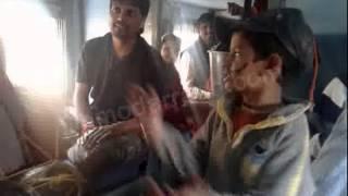Funny Video In Train :By Damodar Raao (Music Director)