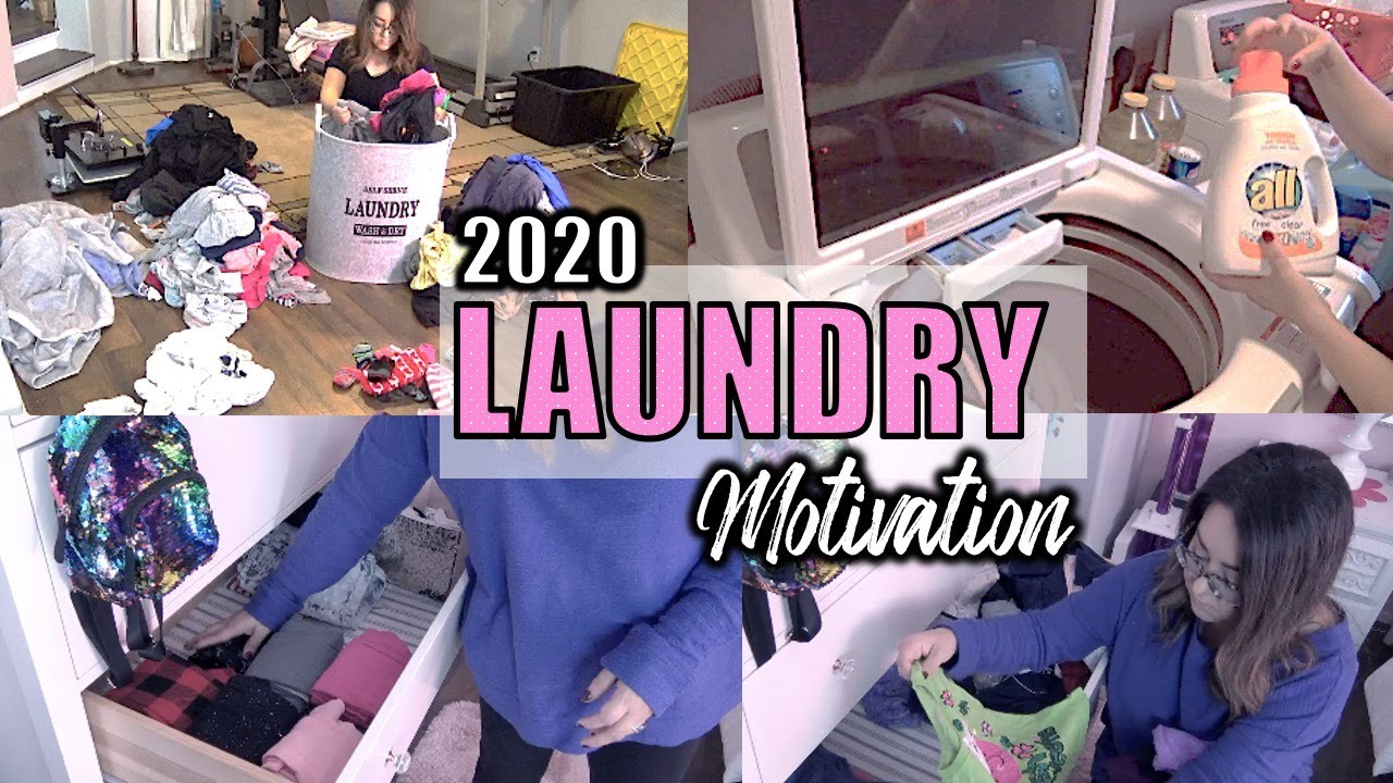 THE BEST LAUNDRY ROUTINE OF 2020 | GET IT ALL DONE EFFICIENTLY AND STRESS FREE | FAMILY OF 4