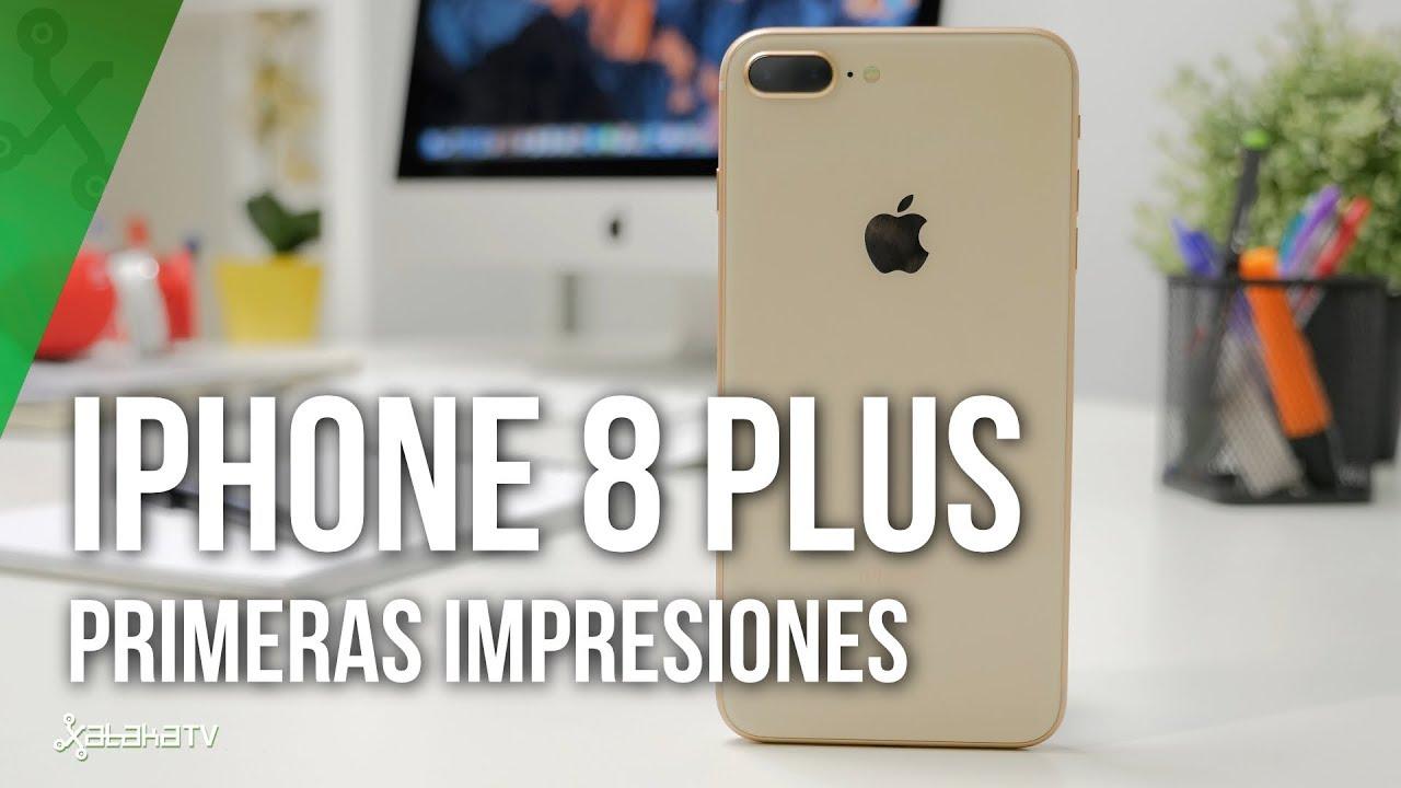 694215289e3 iPhone 8 Plus, primeras impresiones: Apple esconde lo más interesante bajo  un diseño de hace años