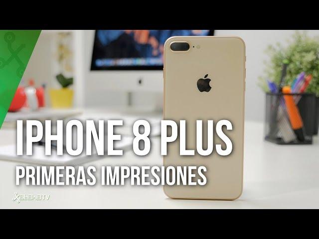 11b43d06898 iPhone 8 Plus, primeras impresiones: Apple esconde lo más interesante bajo  un diseño de hace años