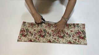 [Diy]패턴없이 옷 만들기/이쁜 치마 만들기!/How…