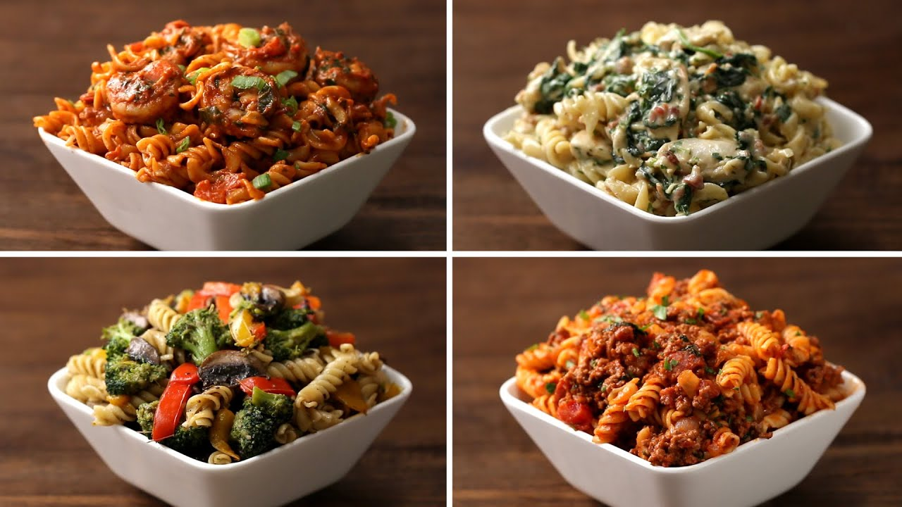 Rotini pasta 4 ways youtube forumfinder Image collections