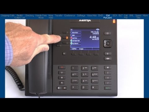 Mitel® 6867i End-User Training & Features Tutorial (3-Way Conference)