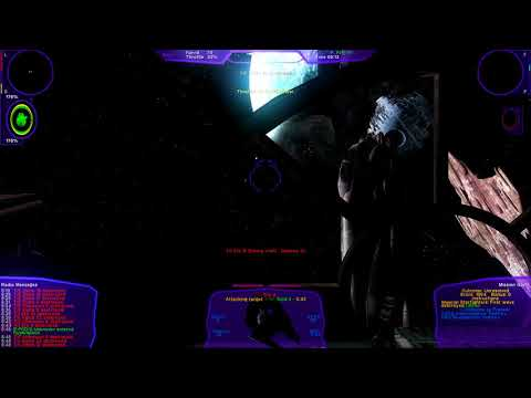 X-wing Alliance Upgrade 1.5 + Reshade 3.1 Test Death Star Mission