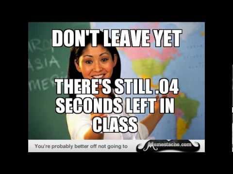 Unhelpful High School Teacher Memes Youtube