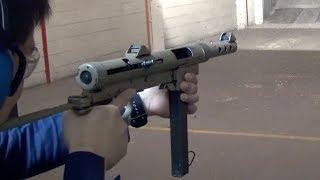 実弾射撃 カールグスタフ M45 短機関銃 (Carl Gustav m/45 SMG)