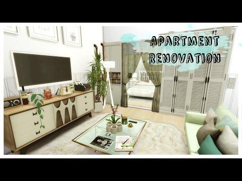 Sims 4 - Apartment Renovation II - Art District