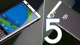 5 Problems with BlackBerry KEYOne...