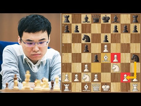 King's Gambit is for Children || Yangyi Yu vs Vitiugov || FI