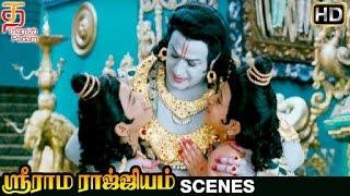 Sri Rama Rajyam Tamil Movie Scenes HD | Balakrishna Impressed by Lava Kusa | Nayanthara | Ilayaraja