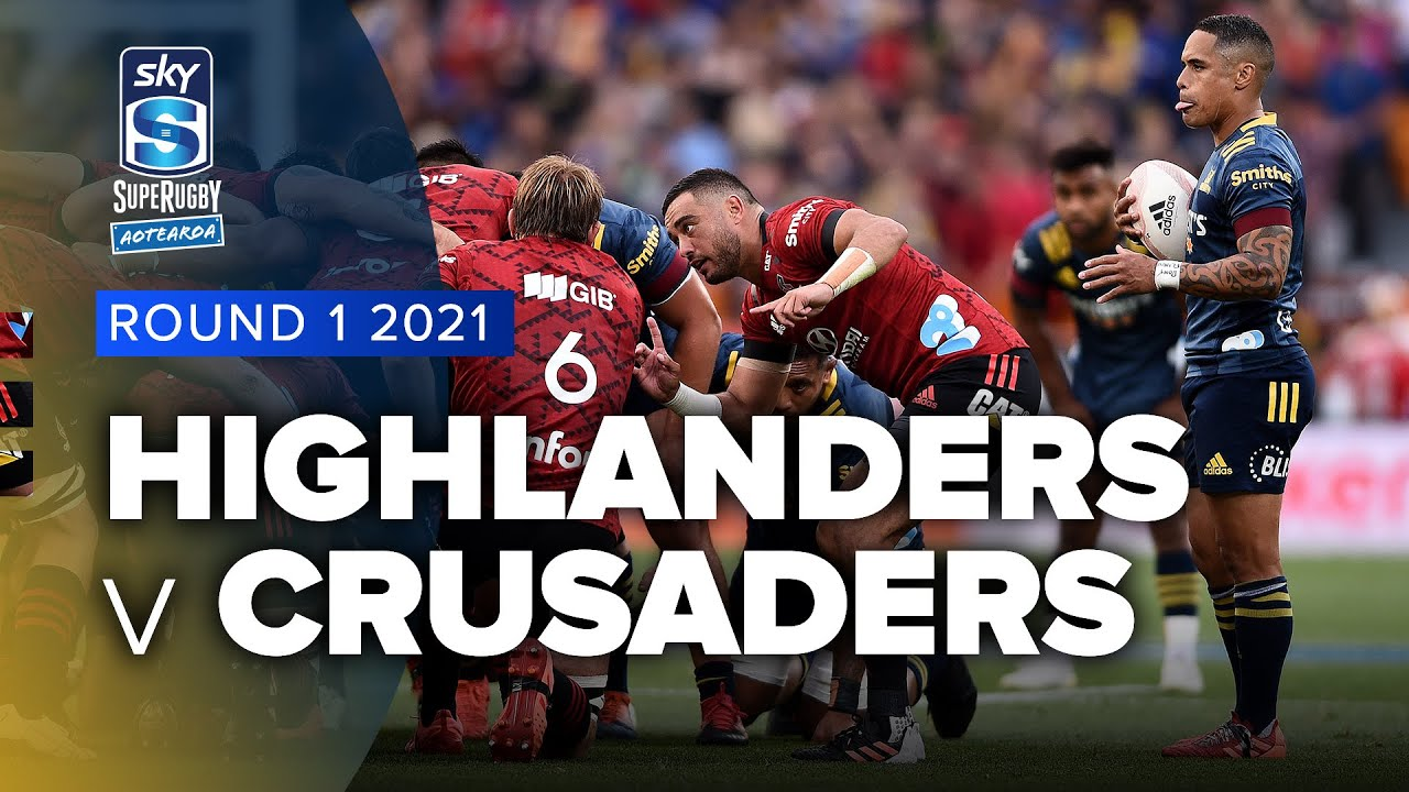 Super Rugby Aotearoa | Highlanders v Crusaders - Rd 1 Highlights