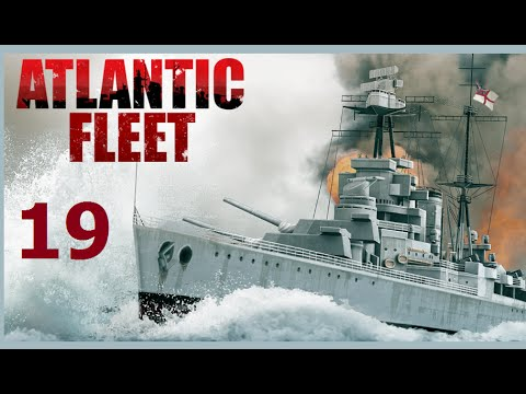 Atlantic Fleet | Let's Play Germany - 19 Bismarck vs Queen E