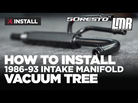 1986-1993 Mustang 5 0 Resto Intake Manifold Vacuum Tree - Install & Review