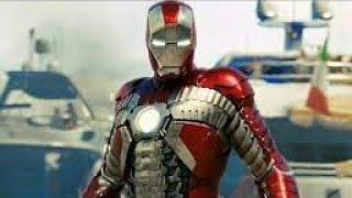 """Iron Man 2"" Iron Man vs Whiplash- AwesomeGamer Voice Over"