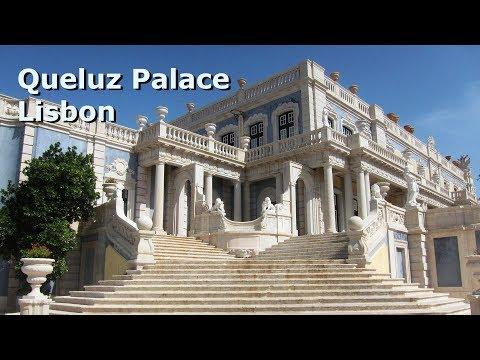 Queluz palace Lisbon the Portuguese Versailles - Elizabeth goes cruising again