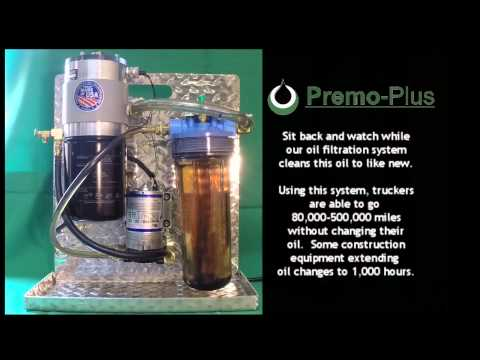 Premo Plus Oil Bypass Filtration System Demo