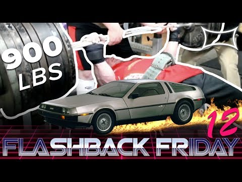 A 900lb BENCH PRESS!?! | Flashback To 2012 Super Training Gym! | Flashback Friday 12