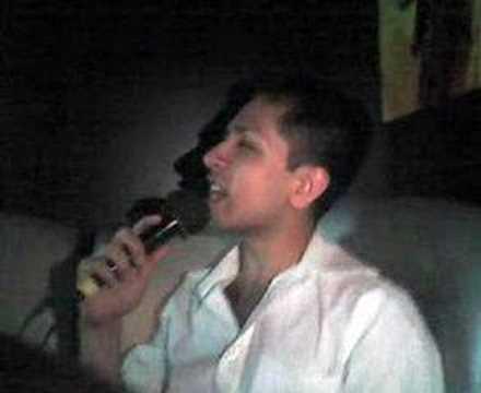 Dilip gay queen famous nose picker singing karaoke