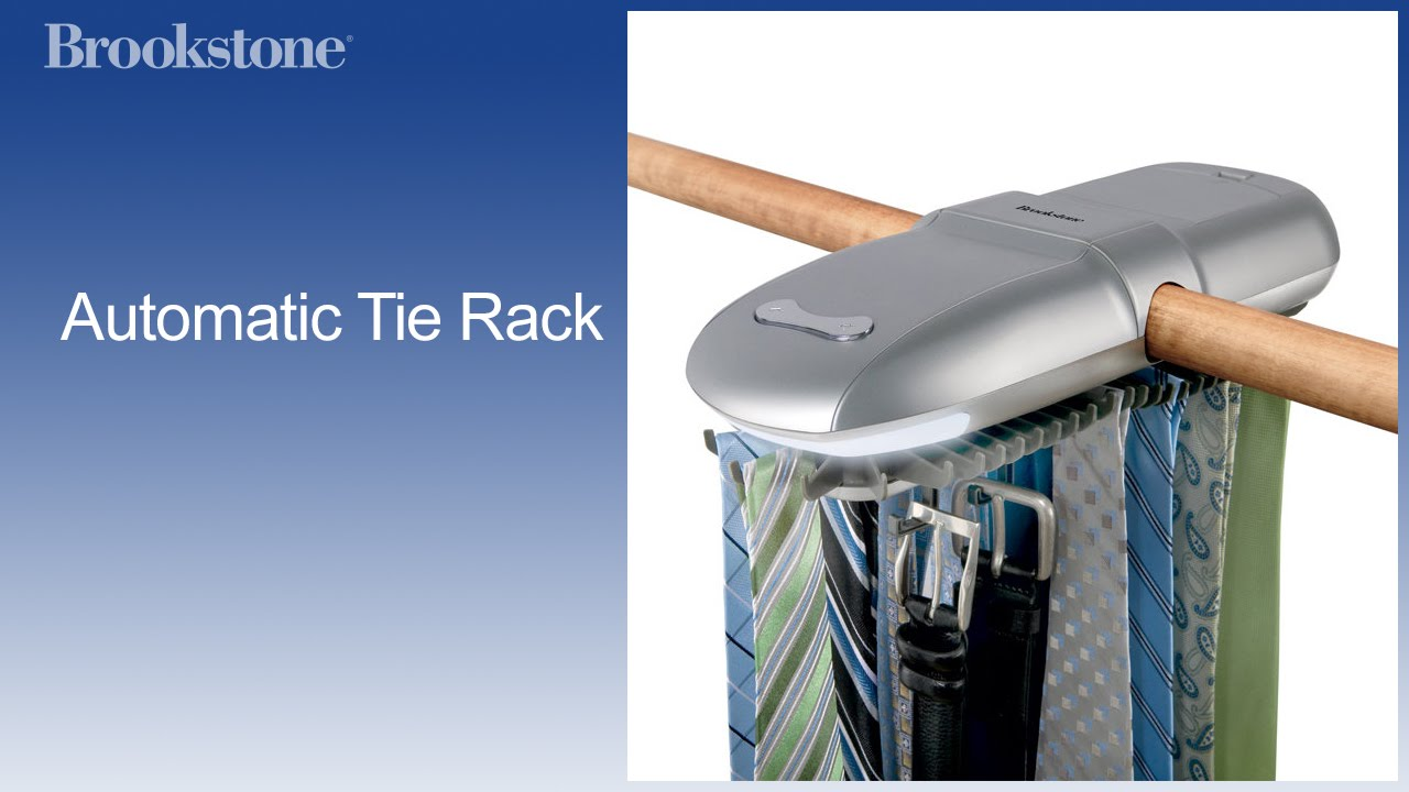 Automatic Tie Rack Youtube
