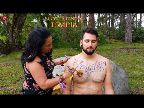 ASMR Martha PANGOL, CUENCA, MASSAGE, LIMPIA, SPIRITUAL CLEANSING, Pembersihan, indian barber