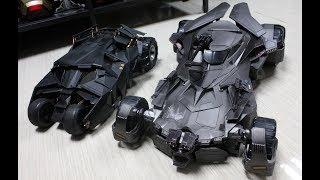 [Unboxing] Mattel Justice League Batmobile &  Batman (Tactical Version)