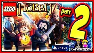 Lego the Hobbit - Walkthrough Part 2 An Unexpected Party co-op (PS4)
