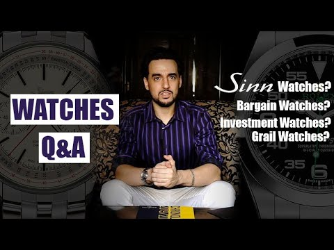 watches-q&a-episode-1- -sinn-watches,-investment-watches,-scratching-watches,-grail-watches-&-more!