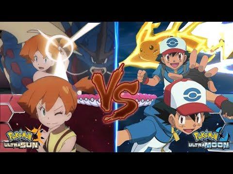 Pokemon Battle USUM: Ash Vs Misty (Misty Vs Ash Best Wishes)