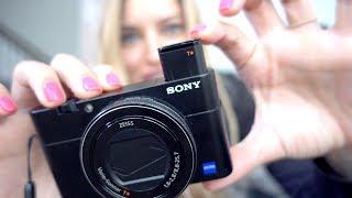 New Vlogging Camera - Sony rx100 v
