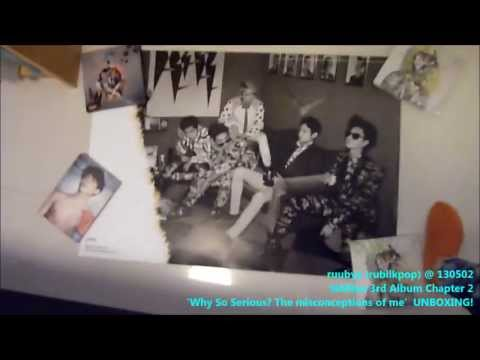 SHINee 샤이니 3rd Album Chap 2 'Why So Serious? The Misconceptions Of Me' UNBOXING!