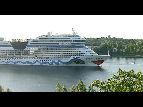 How cruise ships handle their wastewater in the Baltic Sea