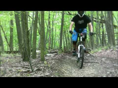 Downhill Mountain Biking At Frederick Watershed