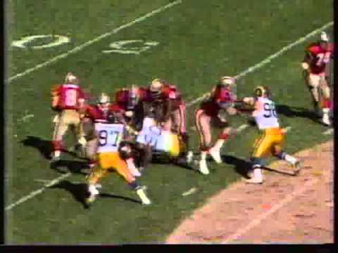 Steve Young Touchdown Run vs Rams