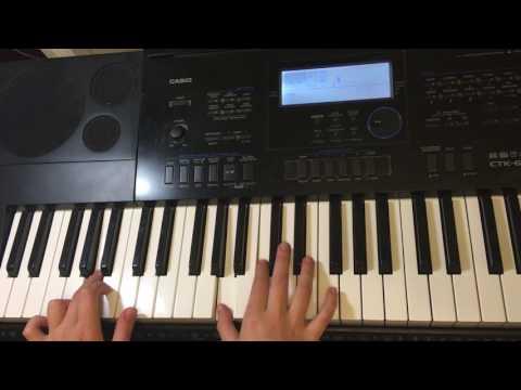 Как играть на пианино цыганочку видео уроки