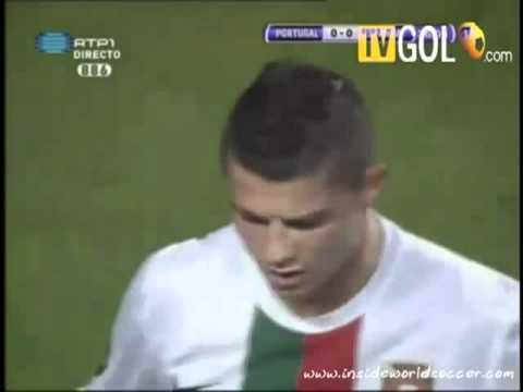 Nani sabotages Cristiano Ronaldo's 'greatest goal'