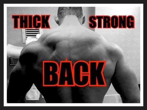 9 ROW Variations to BUILD a Thicker, Stronger Back!