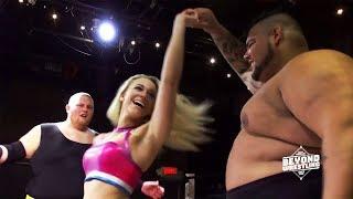 [Free Match] Janelope (Joey Janela & Penelope Ford) v. Ace Romero & Brian Milonas | Beyond Wrestling