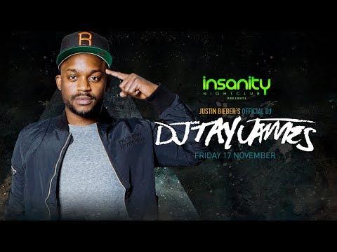 DJ TAY JAMES   Friday 17.11.2017   Insanity Nightclub Bangkok