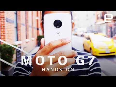 Motorola Moto G7, G7 Power and G7 Play Hands-On