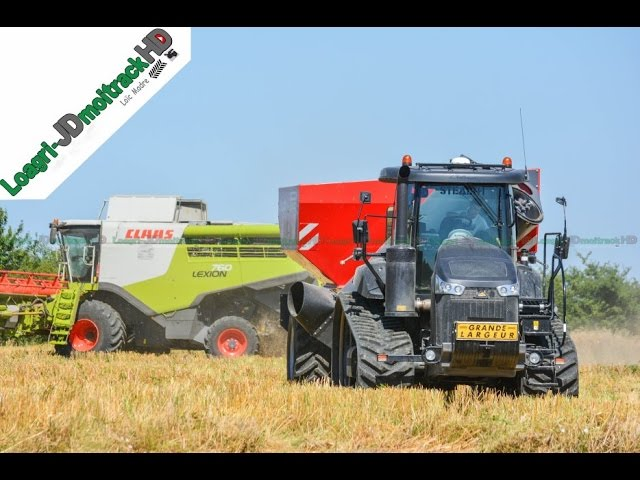 Challenger MT775E Noir & Perard X-Flow at Harvest 2016 !